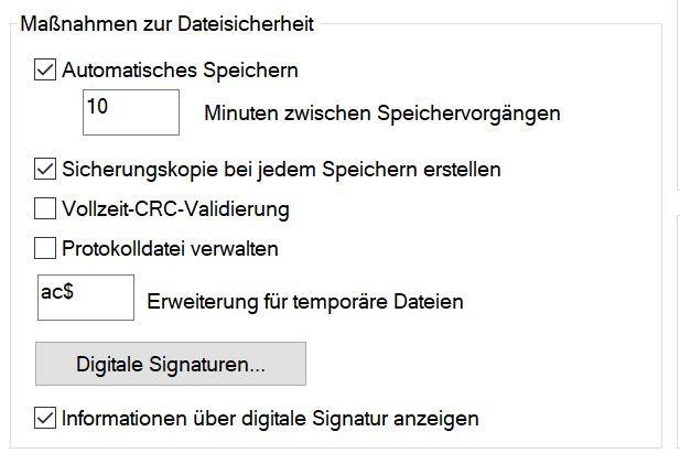 """AutoCAD: Sicherungsdateien einstellen, Befehl """"MoveBak"""""""